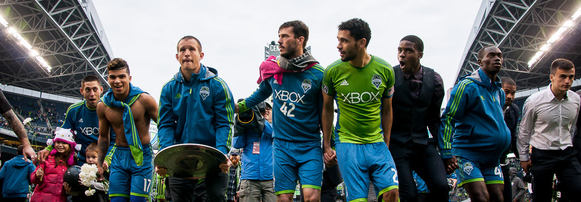 Seattle Sounders Win the Supporters' Shield: Photos
