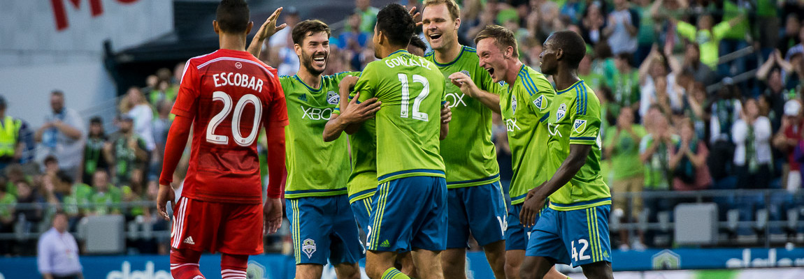 Sounders Defeat Dallas, 3-0: Photos